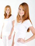 młode świeże kobiety Obraz Royalty Free