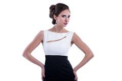 Modeartfrau lizenzfreies stockbild