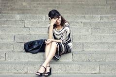 Modeartporträt der Frau Lizenzfreies Stockfoto