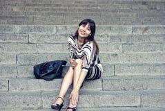 Modeartporträt der Frau Stockbilder