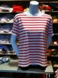 Modeattrapp - sommart-skjorta för kvinnor arkivbild