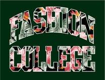 Modecollege stock abbildung