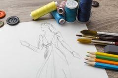 Modedesign Royaltyfri Bild