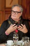 Modedesigner Rocco Barocco am Eröffnungstag des ersten Mono-markenspeichers in Russland Lizenzfreie Stockfotografie