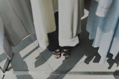 Modedesigner Stylish Showroom Concept Lizenzfreie Stockbilder