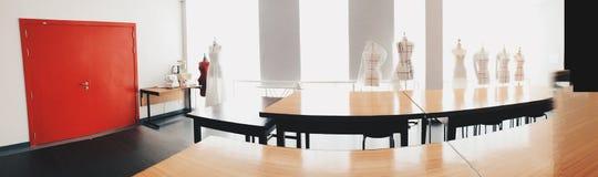Modedesignklassenzimmer stockbild