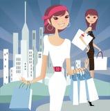 modeförsäljning Arkivfoton