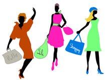 modeförsäljningsshopping Arkivfoton