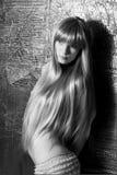 Modeflicka Royaltyfria Bilder