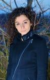 modeflicka Royaltyfri Foto