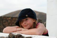 modeflicka little Royaltyfri Bild