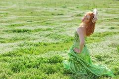 modefältmodell Royaltyfria Bilder