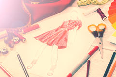 Modeformgivare Royaltyfri Fotografi