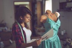 Modeformgivare Arkivfoto