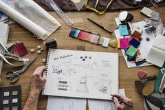 Modeformgivare Stylish Showroom Concept Arkivbild