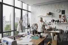 Modeformgivare Stylish Showroom Concept Arkivfoto