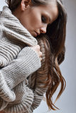 Modefoto der Schönheit Lizenzfreie Stockbilder
