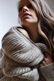 Modefoto der Schönheit Lizenzfreies Stockbild