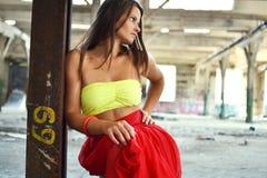 Modefoto der Schönheit Stockbild
