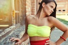 Modefoto der Schönheit Stockbilder