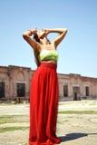 Modefoto der Schönheit lizenzfreie stockfotos
