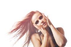 Modefoto der Schönheit lizenzfreie stockfotografie