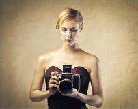 modefotografier Arkivfoton