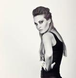 modefotokvinna Royaltyfria Foton