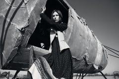 Modefrau Stockbild