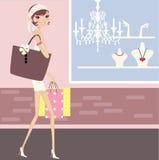modeförsäljning Arkivfoto
