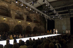Modehändelse i Graz Royaltyfri Fotografi