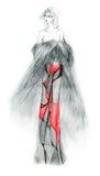 modeillustration Fotografering för Bildbyråer