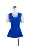 Modeklänning på skyltdocka Royaltyfri Fotografi