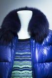 Modekleidungs-Speichermannequin des Shops blindes Lizenzfreies Stockbild