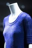Modekleidungs-Speichermannequin des Shops blindes Stockfoto