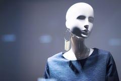 Modekleidungs-Speichermannequin des Shops blindes Stockfotografie
