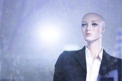 Modekleidungs-Speichermannequin des Shops blindes Stockbilder