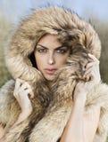 modekvinna Royaltyfri Fotografi