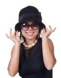 modekvinna Arkivbild