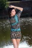 Modekvinnor Royaltyfria Foton