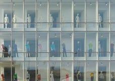 modelów sklepu gablota wystawowa Zdjęcie Royalty Free