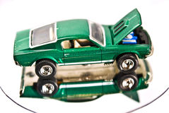 Model of a 1967 Ford Mustang royalty free stock images