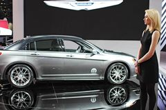 Model 2011 de Chrysler 300S Image stock