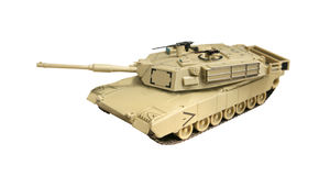 Model abrams tank Stock Photos