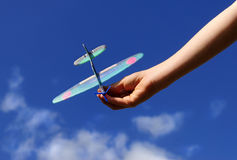 Model Aeroplane Royalty Free Stock Image