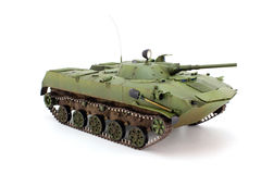 Model airborne combat vehicle Royalty Free Stock Images