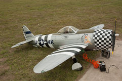 Curtis model aircraft South Africa Royalty Free Stock Images