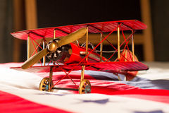 Model aircraft. Still life photographic model aircraft Royalty Free Stock Image