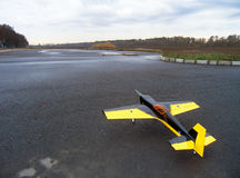 Model aircraft Stock Image