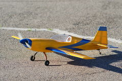 Model airplane Stock Photos